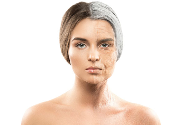 Aging of the face Illustrated by Dr. BCK Patel MD